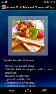 Appetizer Recipes Free - screenshot thumbnail