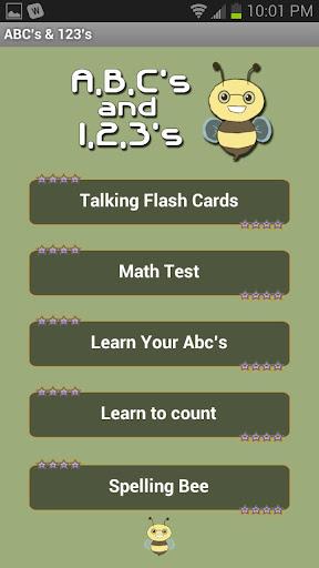 Abc's 123's
