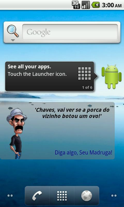 Seu Madruga Widget- screenshot