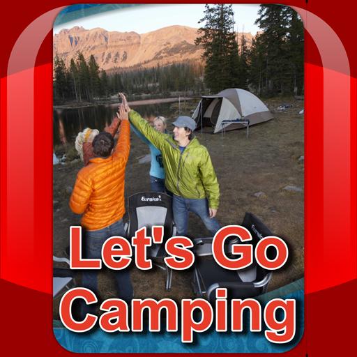 Let's Go Camping 書籍 App LOGO-APP試玩