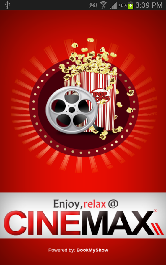 Cinemax India - screenshot