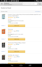 Amazon for Tablets Screenshot 15