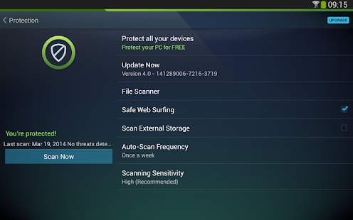 AntiVirus Security - FREE - screenshot thumbnail