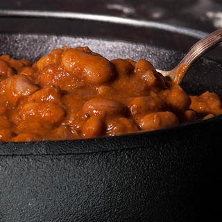 Ranch style Baked Beans