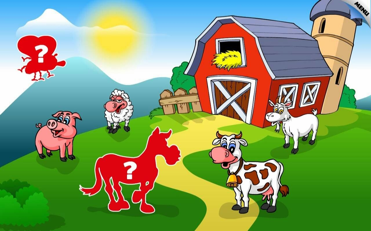 kids animal preschool puzzle l android apps on google play