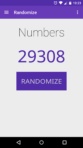 Randomize: Numbers Letters