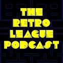 The Retro League Podcast logo