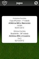 Screenshot of Atlético-MG Mobile