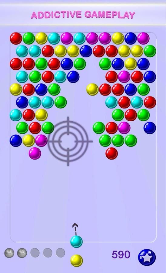 bubble shooter original game
