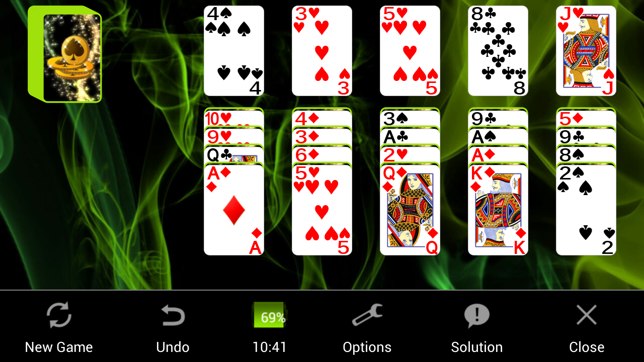 Two-Ways Solitaire- screenshot