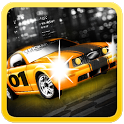 Raving  Racer : 2D Car Racing icon