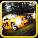 Raving  Racer : 2D Car Racing icon