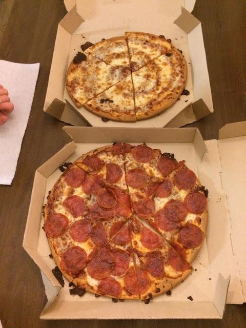 GF cheese n pepperoni pizza