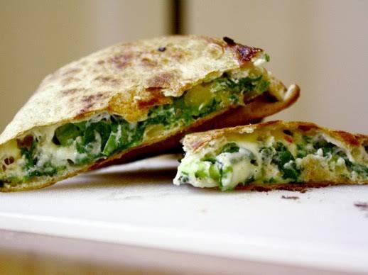 Spinach Pie Quesadilla Recipe