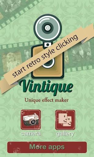 Vintique - Photo Editor