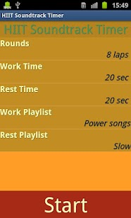 HIIT Soundtrack Timer - screenshot thumbnail