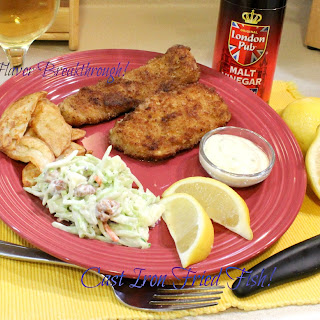 Cast Iron Fried Fish!.