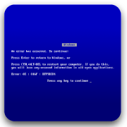 Blue Screen of Death 1.0 Icon
