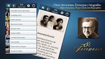 Screenshot of St. Josemaria