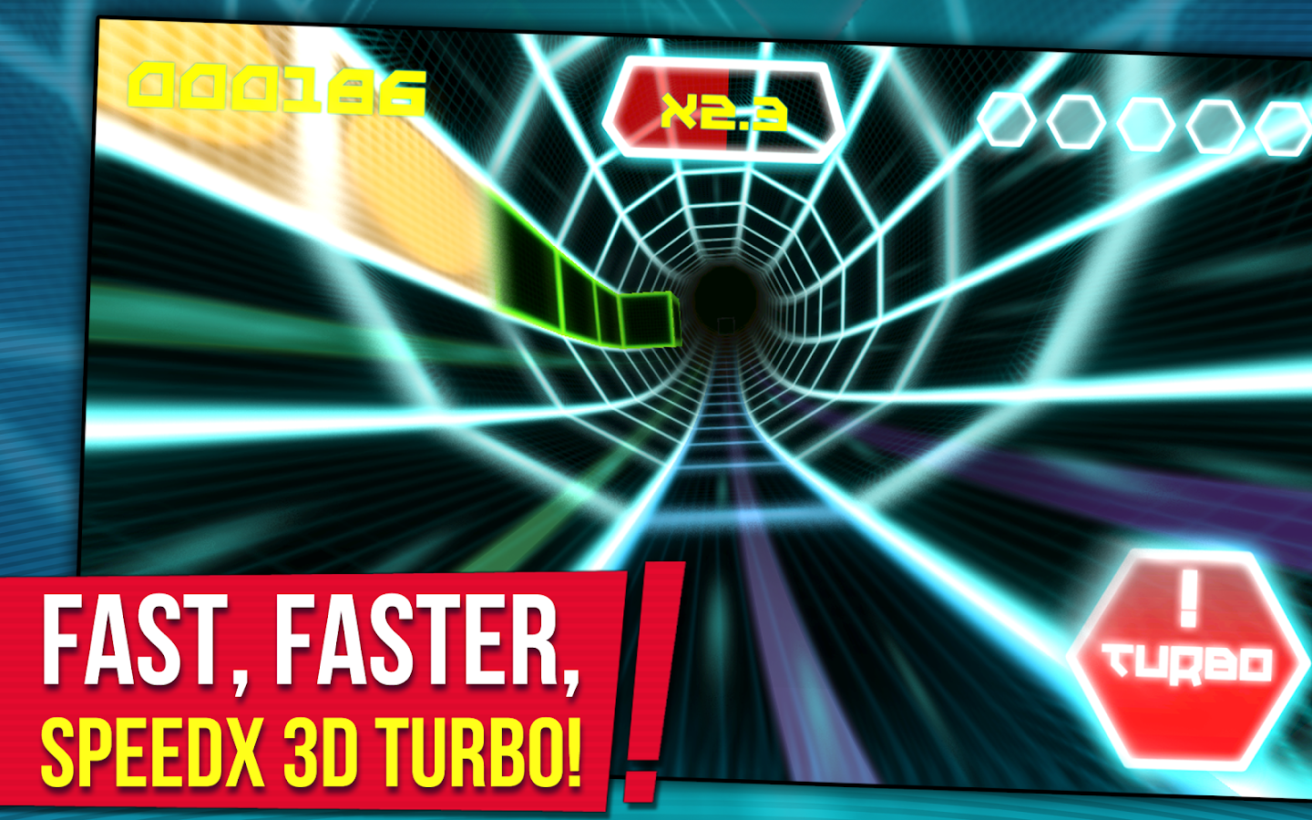 SpeedX 3D Turbo- screenshot