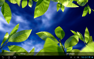 Screenshot of Fresh Leaves