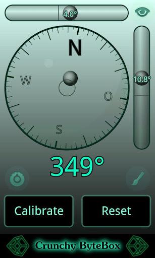 Spirit Level Compass