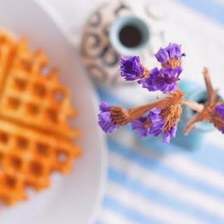 Almond Waffles (vegan, Gluten-free)