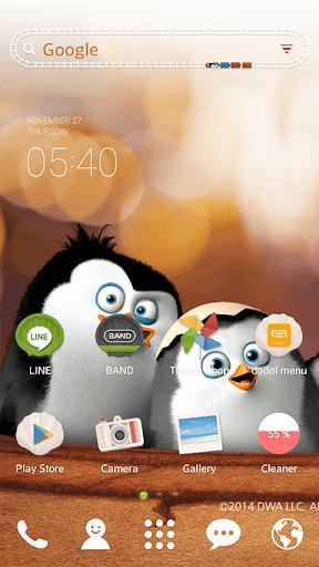 マダガスカルのペンギンドドルランチャーテーマ