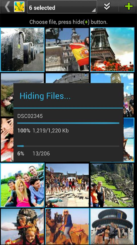 Gallery Lock Pro(Hide picture)- screenshot