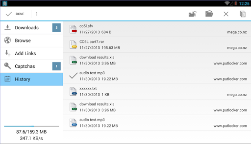 Ponydroid Download Manager  screenshots 13
