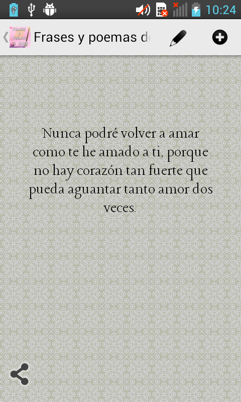 Frases y Poemas de Amor - screenshot