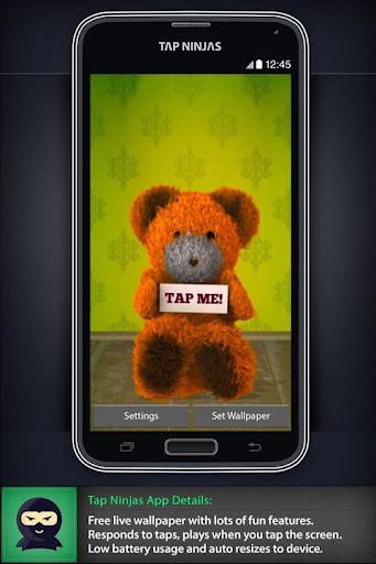 Cute Dancing Teddy Bear LWP