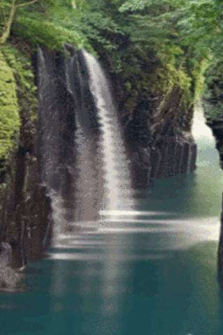 Nice Waterfall Live Wallpaper - screenshot