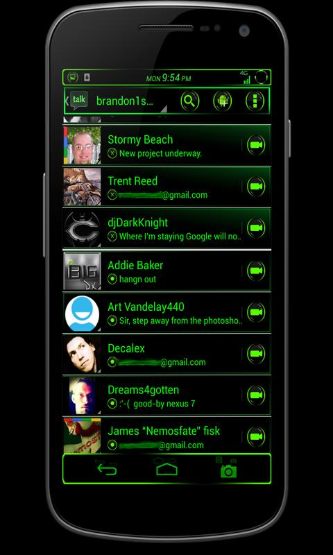 CM10/AOKP Theme: VENOM - screenshot