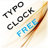 Typo Clock Free Widget
