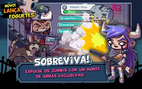 ZOMBIES ATE MY FRIENDS: miniatura da captura de tela