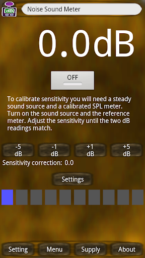Noise Sound Meter