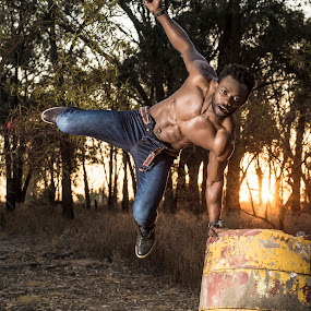 The Jump by Daniel Craig Johnson - Sports & Fitness Fitness ( model, fitness, africa, photography, portrait,  )