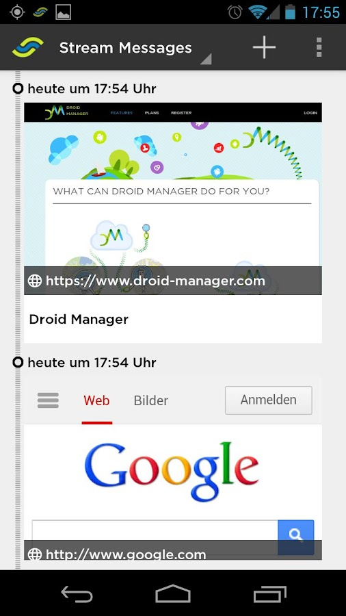 Droid Manager - screenshot