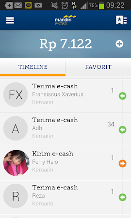 mandiri e-cash 1.5.2 screenshot 312037