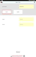 Screenshot of REBT Calculate Sections