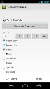 Keepass2Android Password Safe - screenshot thumbnail