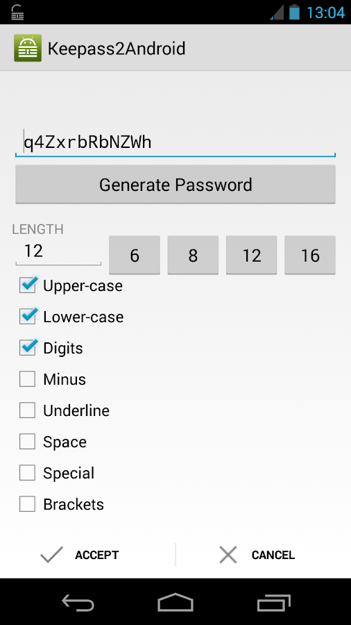 Keepass2Android Password Safe - screenshot