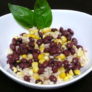 Black Bean and Rice Salad.