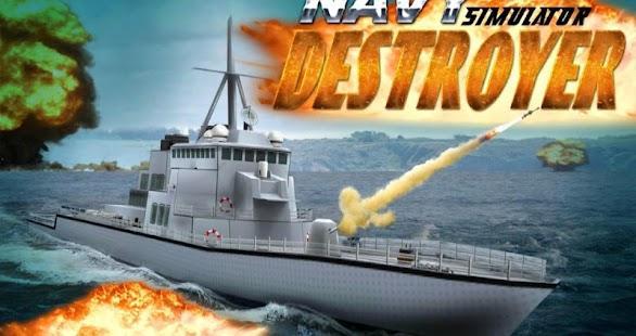 史詩海軍驅逐艦模擬器 3D simulator game