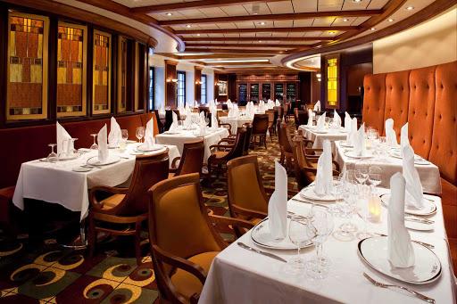 Allure-of-the-Seas-Chops-Grille - Head to Chops Grille on your Allure of the Seas sailing for a juicy steak dinner.