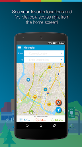 Metropia-Driving a better city