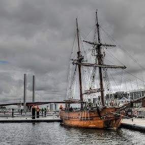 Pirate Ship  by Mihail Marzyanov - City,  Street & Park  Vistas