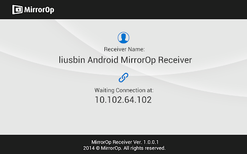 MirrorOp Receiver v1.0.0.6 build 1006