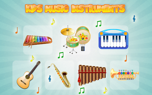 Kids Music Instruments Sounds- screenshot thumbnail